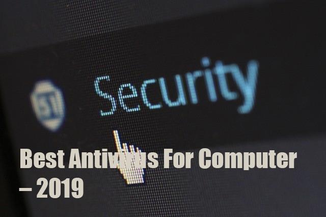 Best Antivirus For Computer – 2019-3