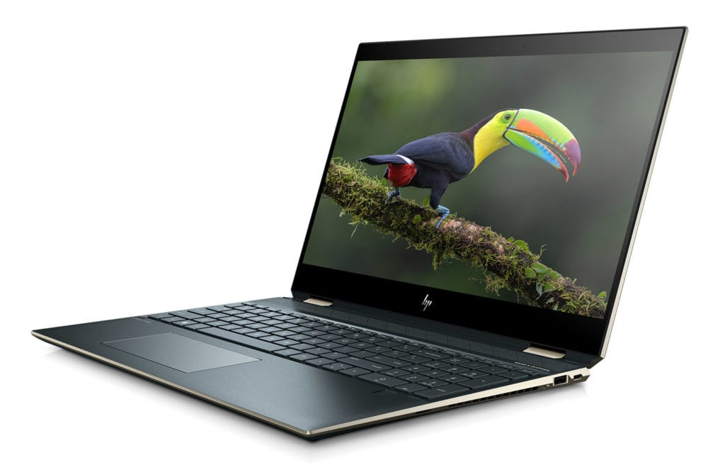New HP Spectre x360 15 Side View