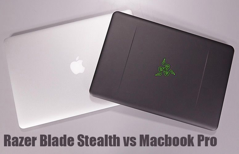 Razer Blade Stealth vs Macbook Pro copy