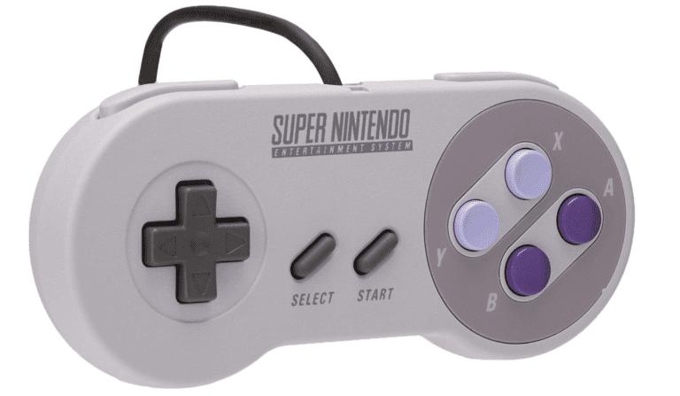 Super NES Classic - Controller