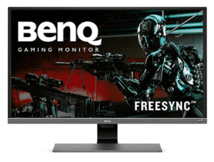 Front side of the BenQ EW3270U monitor