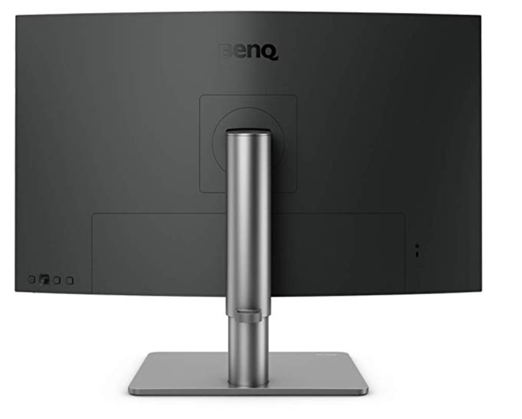 Back View Of The BenQ PD2720U Monitor