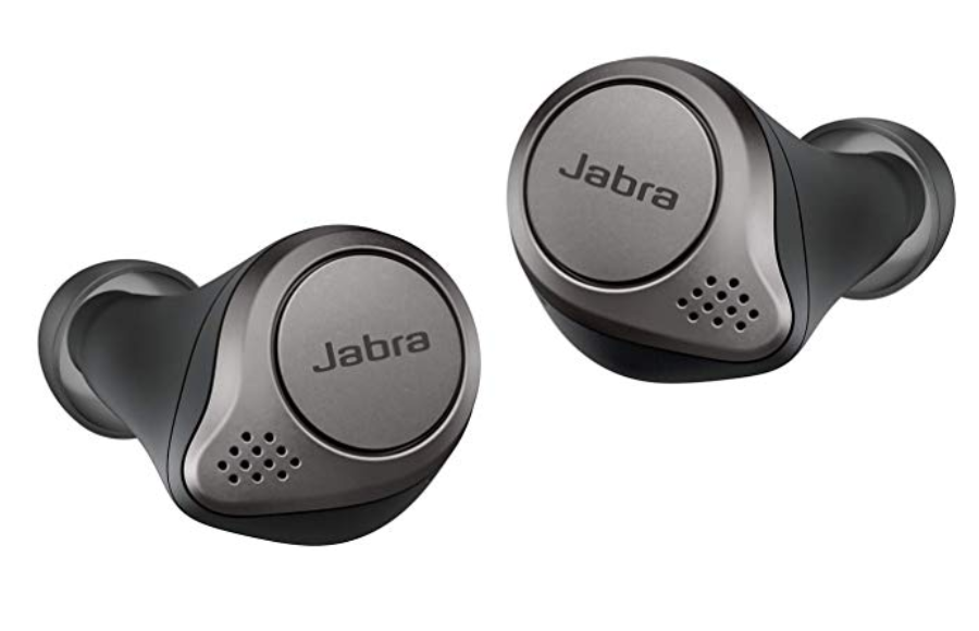 Jabra Elite 75T Wireless Earbuds Review - Front View