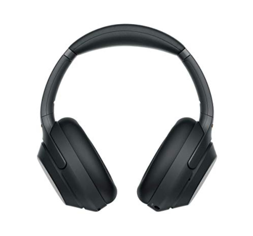 Sony WH 1000XM3 Headphones Review - Front View