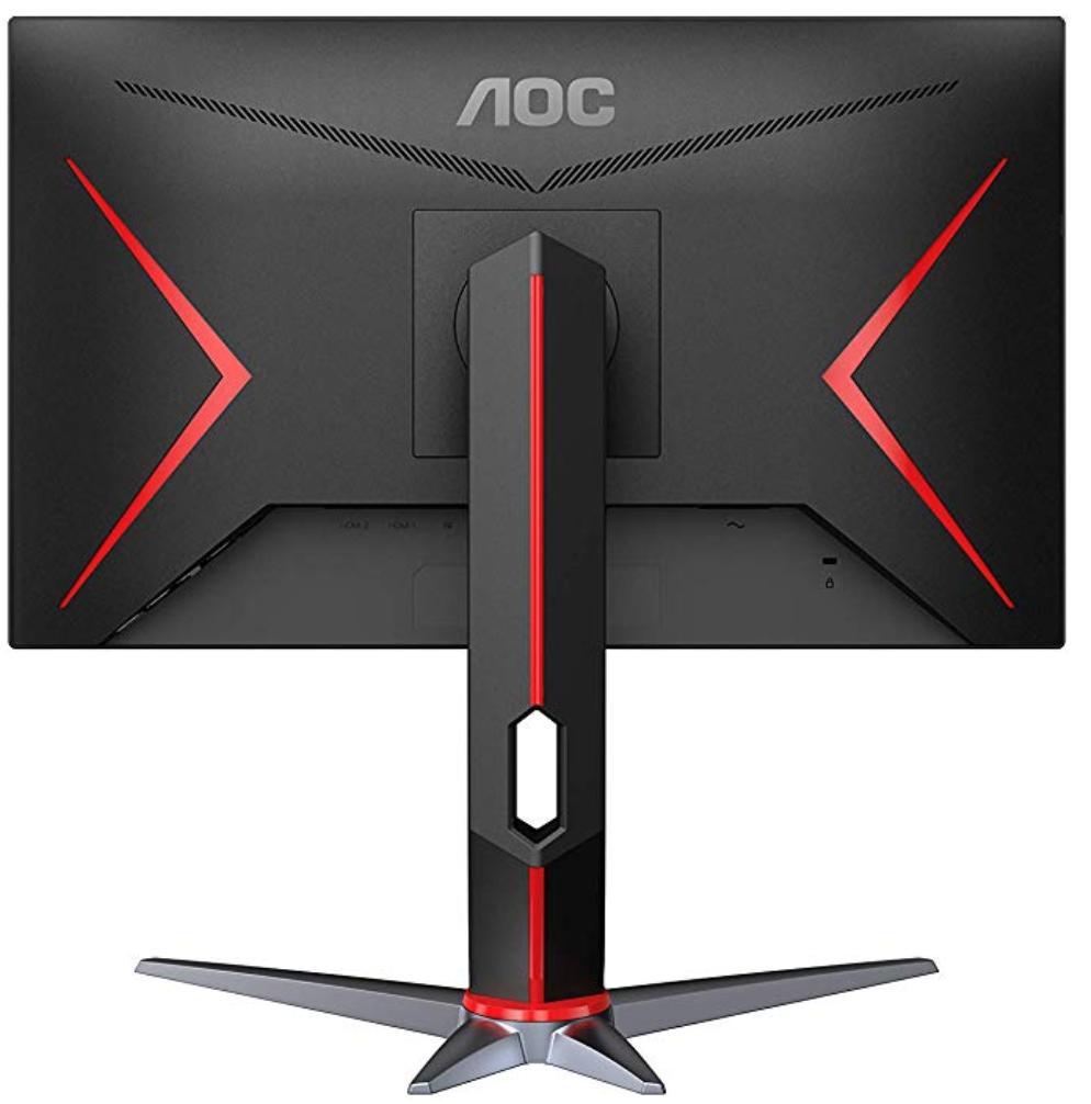 AOC 24G2 Review - Rear View