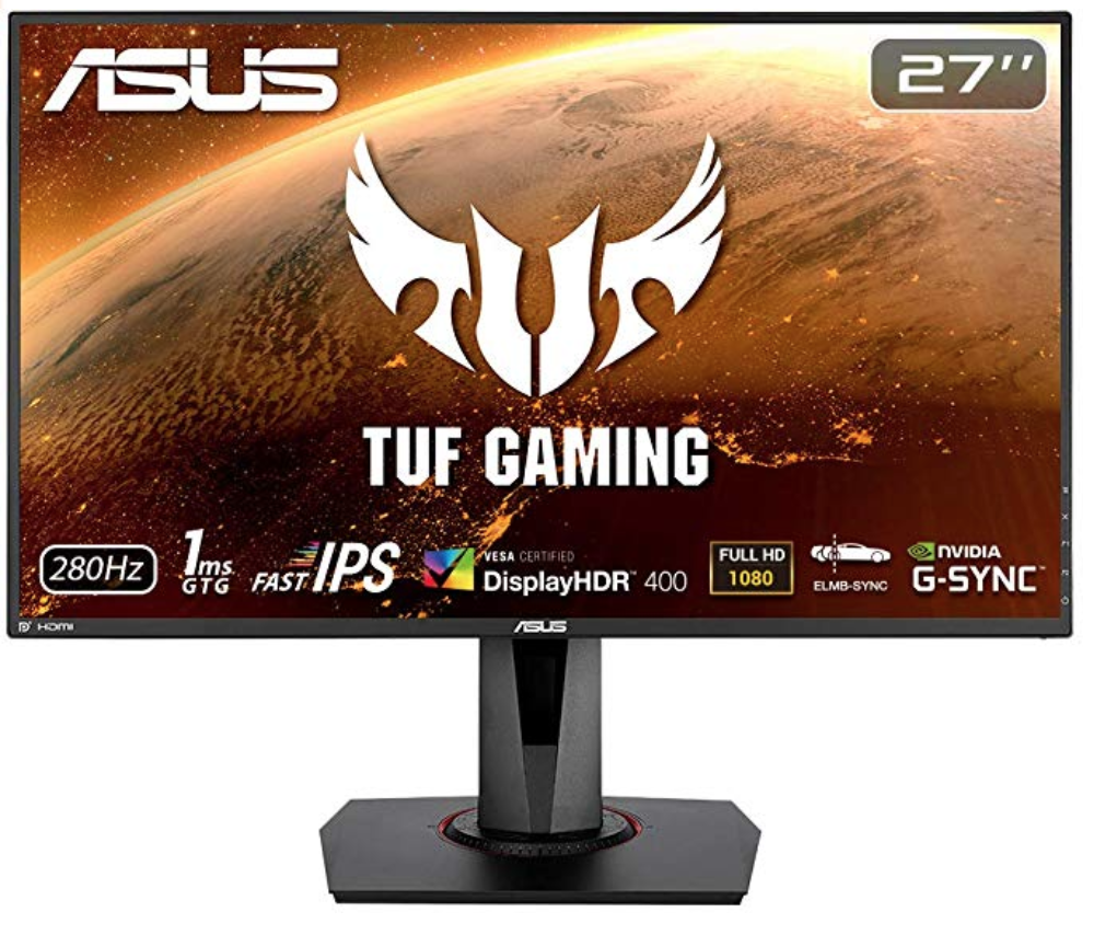 ASUS TUF Gaming VG279QM - Front View