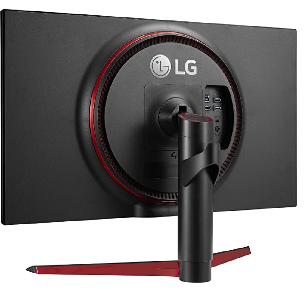 LG 27GN750 Review - Rear View