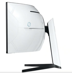 Samsung Odyssey G9 Monitor Review - Side View