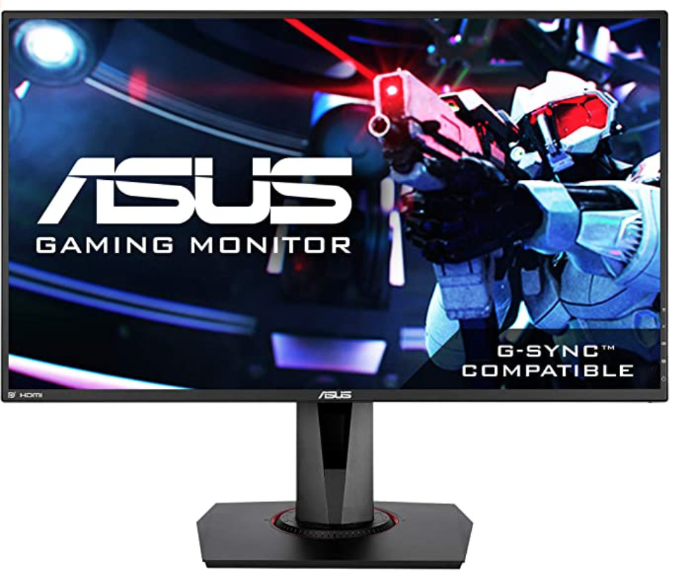 Asus VG278Q Review - Front View