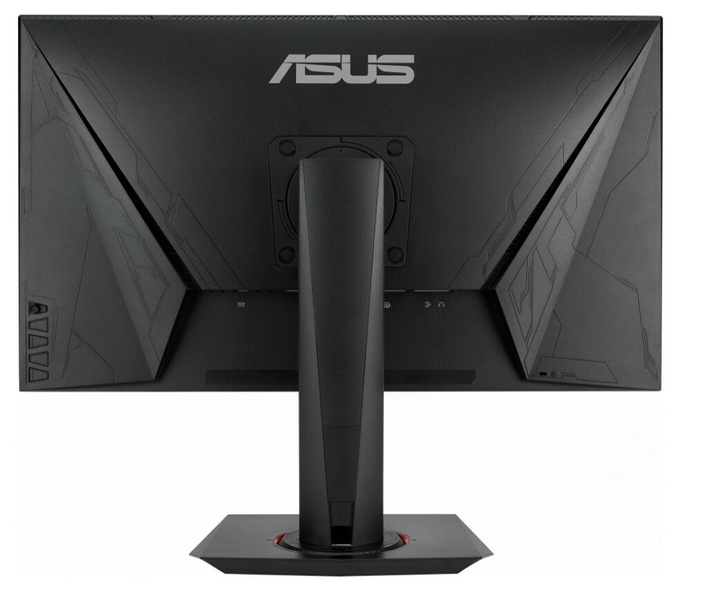 Asus VG278Q Review - Rear View