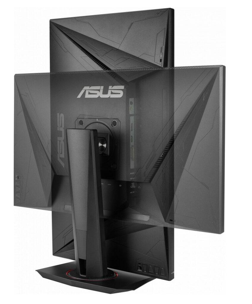 Asus VG278Q Review - Tilt View