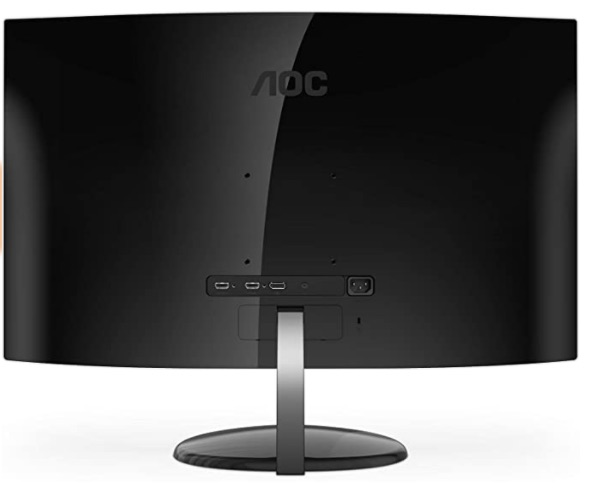 AOC CU32V3 Review - Rear View