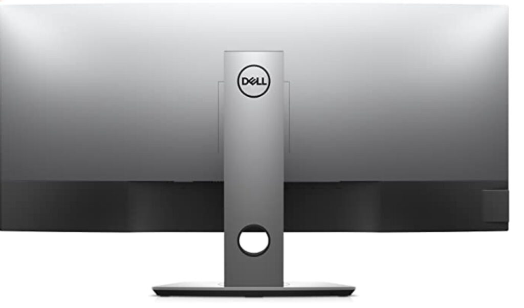 Dell U3818DW Review - Rear View