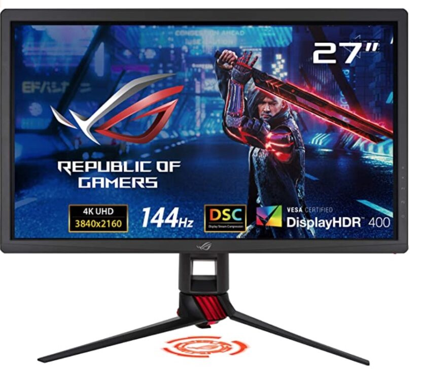 Asus XG27UQ Review - Front View