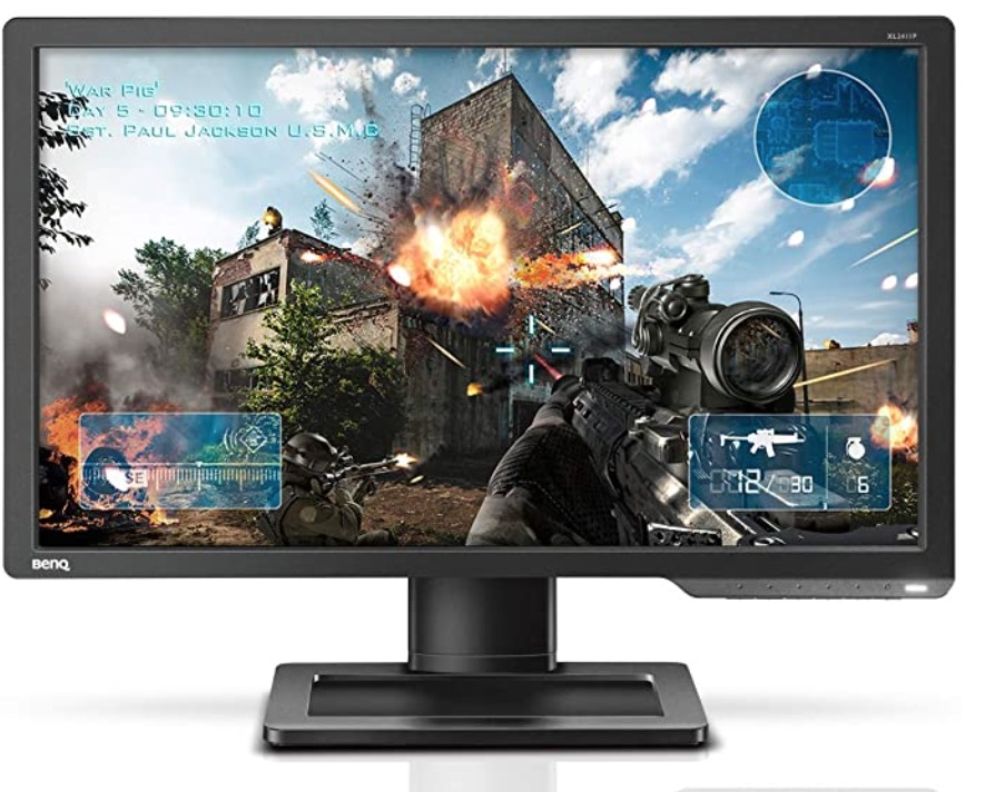 Benq Zowie XL2411P Review - Front View